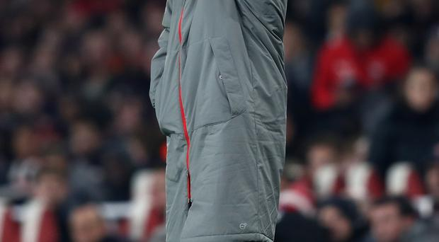 Aim for top: Arsenal boss Arsene Wenger believes his players have the mental strength to challenge for the title