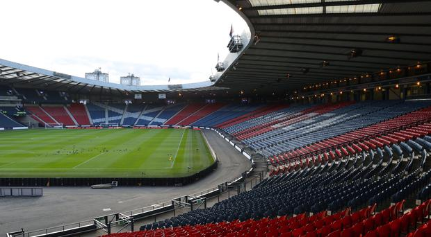 Hampden Park, pictured, and Windsor Park are bidding to host the 2019 UEFA Super Cup