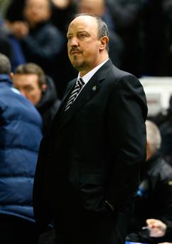 Main man: Newcastle manager Rafa Benitez