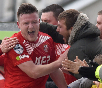 Rallying call: Brendan Shannon wants to give the Portadown supporters an Irish Cup semi-final at the least