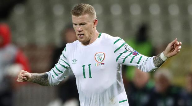 James McClean played for Northern Ireland Under-21s before opting to play his senior football for the Republic