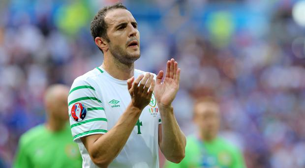 John O'Shea, pictured, has warned the Republic of Ireland not to be blinded by Gareth Bale