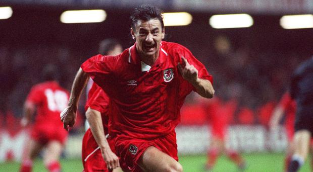 An Ian Rush goal settled a narrow Wales win against the Republic of Ireland in 1986