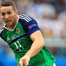 Conor Washington may be the man to lead the line for Northern Ireland on Sunday