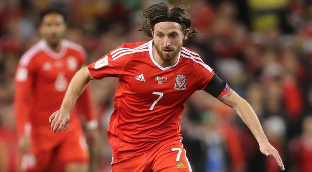 Joe Allen said his Wales team-mate Neil Taylor is devastated by the incident which left Republic of Ireland captain Seamus Taylor with a broken leg