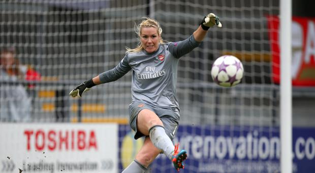 Former Arsenal goalkeeper Emma Byrne is the Republic of Ireland captain