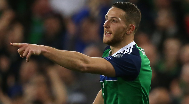 Conor Washington will miss Northern Ireland's World Cup qualifier against Azerbaijan
