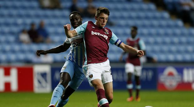 West Ham's Declan Rice called up to Ireland senior squad