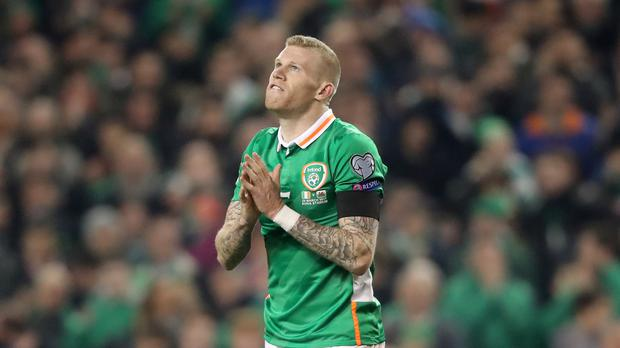 James McClean is in line to win his 50th Republic of Ireland cap against Mexico