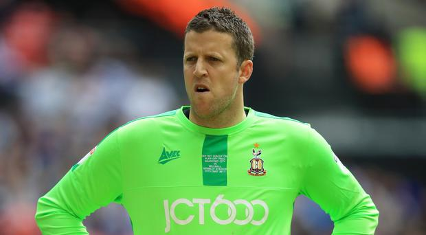 Bradford keeper Colin Doyle is hoping for a second Republic of Ireland cap against Mexico