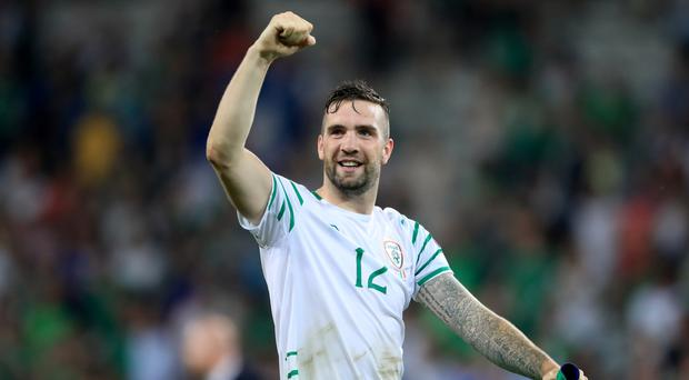 Republic of Ireland defender Shane Duffy has only Austria on his mind