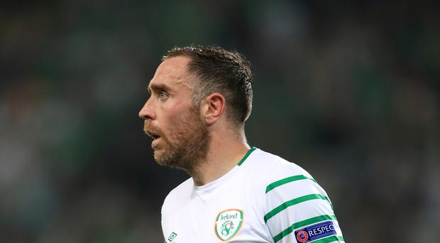 Republic of Ireland's Richard Keogh is hoping for a winning end to a good season