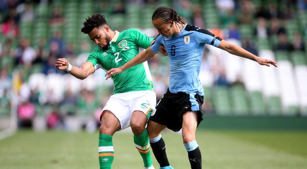 Republic of Ireland defender Cyrus Christie (left) is targeting World Cup qualifier victory over Austria