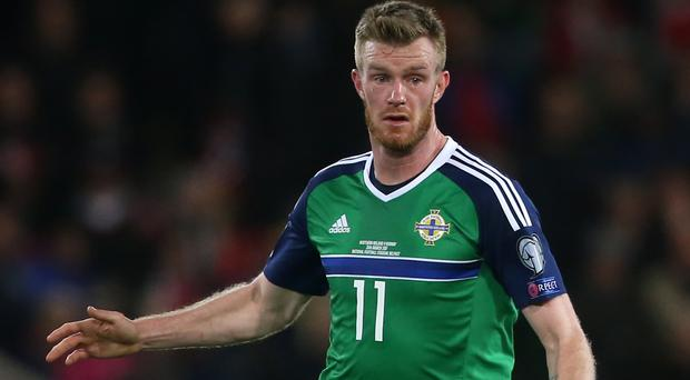 Chris Brunt played against Azerbaijan in 2013 when Northern Ireland were beaten 2-0