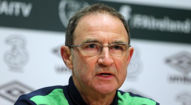 Manager Martin O'Neill will send the Republic of Ireland into World Cup battle with Austria