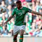 Republic of Ireland's Jonathan Walters scored a valuable leveller