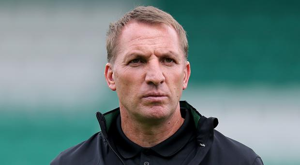 Brendan Rodgers' Celtic face Linfield on Friday night