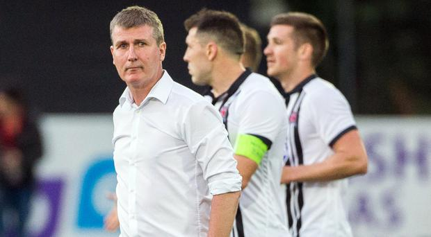 Stephen Kenny's Dundalk are out of the Champions League