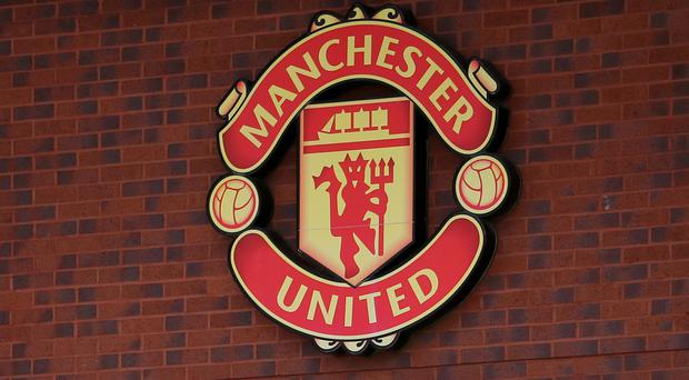 A prankster pretended to clamp the Manchester United team bus