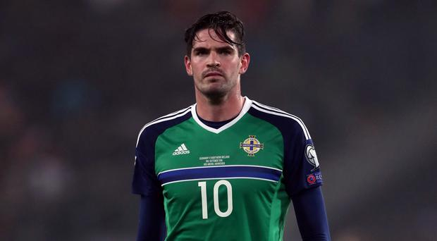 Kyle Lafferty was handed a starting berth in San Marino