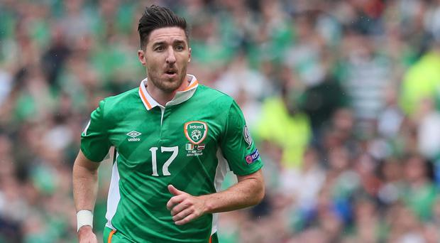 Republic of Ireland defender Stephen Ward is not even considering World Cup qualification yet