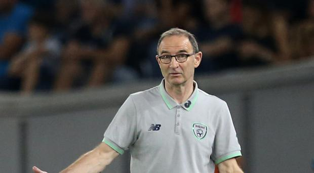 Republic of Ireland manager Martin O'Neill is targeting victory over Serbia