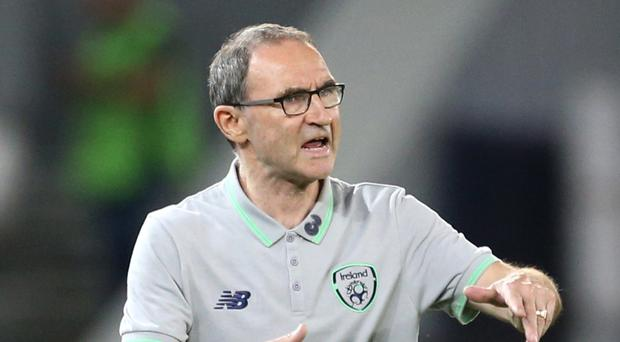 Republic manager Martin O'Neill, pictured, is keeping his fingers crossed over midfielder Jeff Hendrick