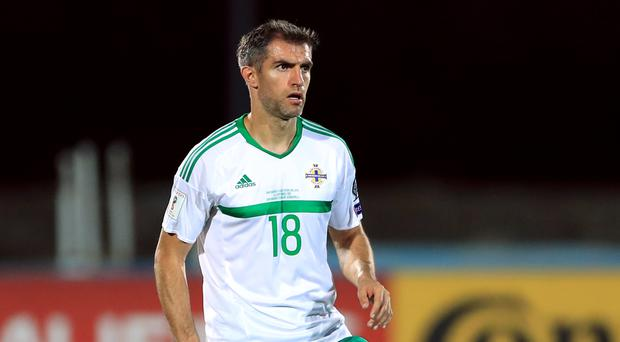Aaron Hughes has won 108 international caps with Northern Ireland