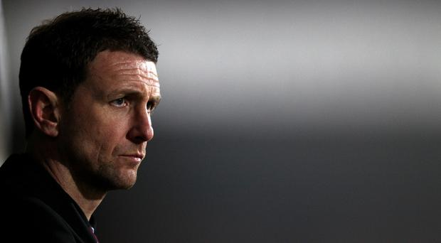 Ian Baraclough tasted defeat as Northern Ireland Under-21 manager