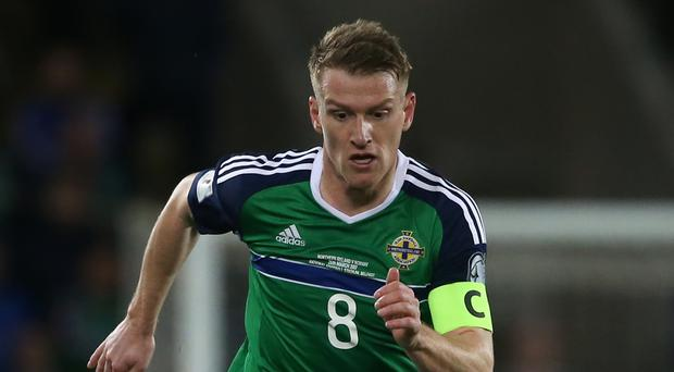 Steven Davis is one of the Northern Ireland players walking a disciplinary tightrope