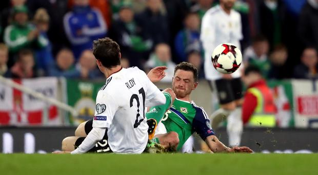 Germany beat Northern Ireland at Windsor Park