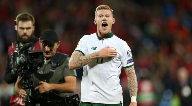 James McClean was the Republic of Ireland's World Cup hero in Wales