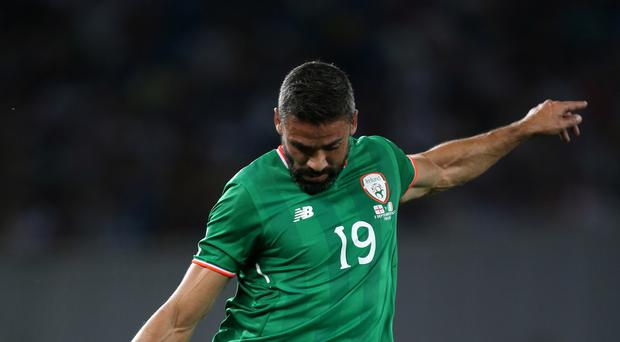 Jonathan Walters fired the Republic of Ireland to play-off victory over Bosnia & Herzegovina