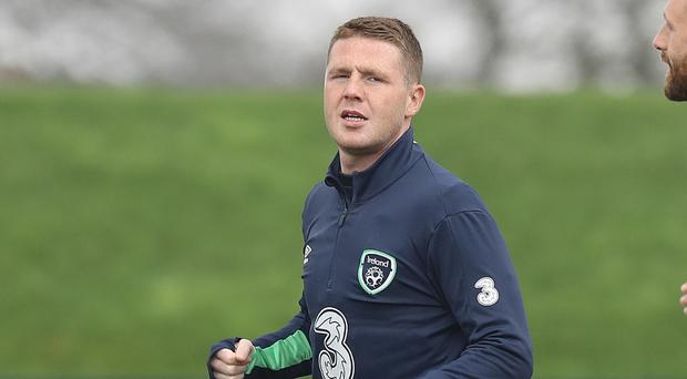 James McCarthy is back in the Ireland squad