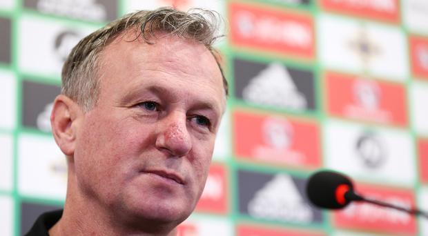Michael O'Neill hopes to lead Northern Ireland to their first World Cup since 1986