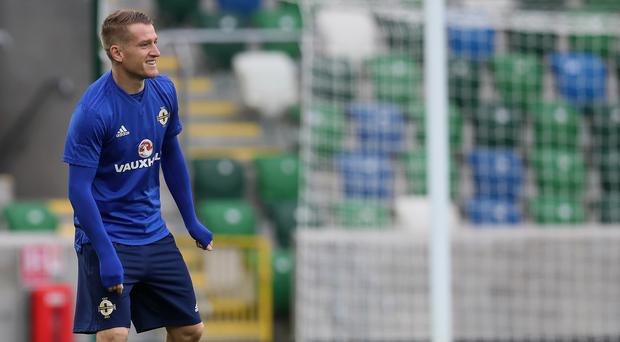 Steven Davis will win his 100th cap on Thursday, but needs to avoid a booking