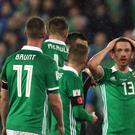 Northern Ireland believe the penalty awarded against Corry Evans ranks as one of the sport's great injustices