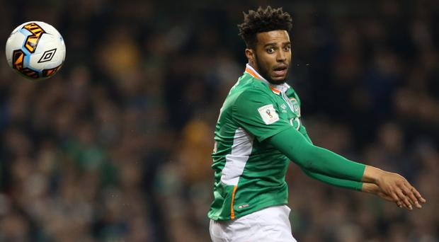 Republic of Ireland defender Cyrus Christie has his sights set on the World Cup finals