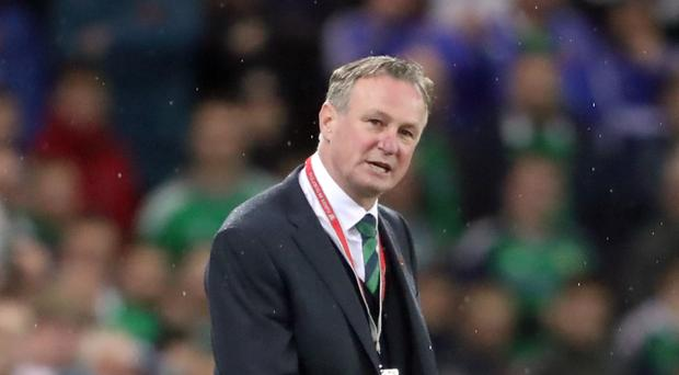 Michael O'Neill is in demand