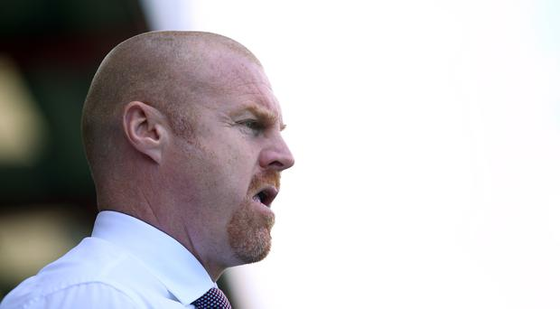 Sean Dyche has welcomed his disappointed Republic players back to Burnley