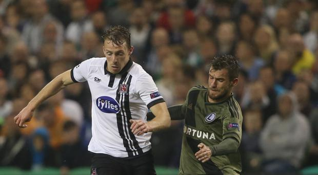 David McMillan, left, has completed his switch to Perth