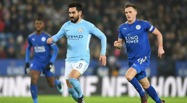 Making strides: Ilkay Gundogan is calling for a ruthless display