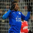 Kelechi Iheanacho made history after his goal was awarded with the use of VAR technology