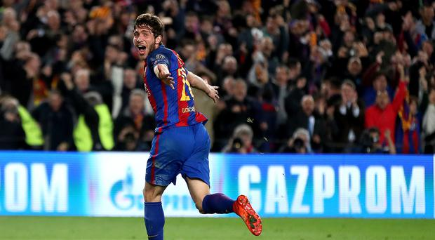 Sergi Roberto has signed a contract extension at Barcelona
