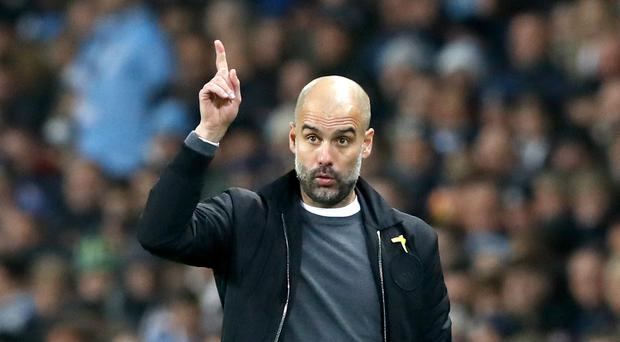 Manchester City manager Pep Guardiola is preparing for the challenge of Bristol City