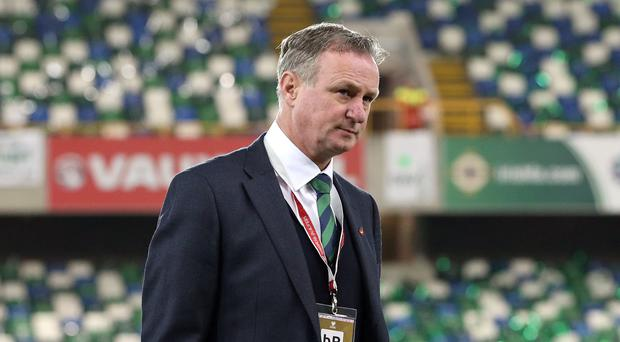 Northern Ireland manager Michael O'Neill has rebuffed an approach from Scotland