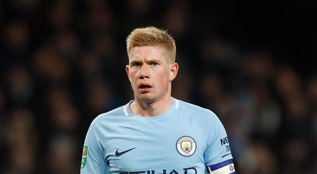 Kevin De Bruyne has been key to Manchester City's success this year (Martin Rickett/PA Images)