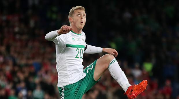 George Saville was a real bright spot for Northern Ireland during the World Cup play-off against Switzerland.