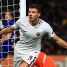 Edin Dzeko will start for Roma in their Serie A clash against Sampdoria on Wednesday, despite links with a move to Chelsea