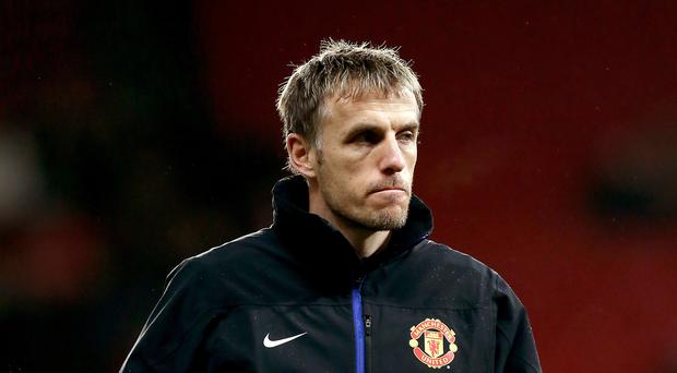 Phil Neville is facing criticism for a Twitter post
